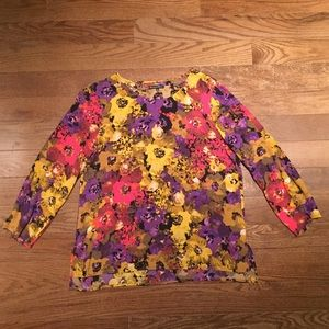 Broadway&Broome for Madewell Floral Top